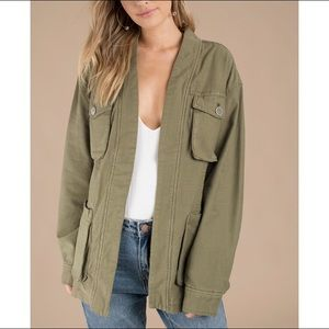Free People Women's in Our Nature Cargo Jacket S